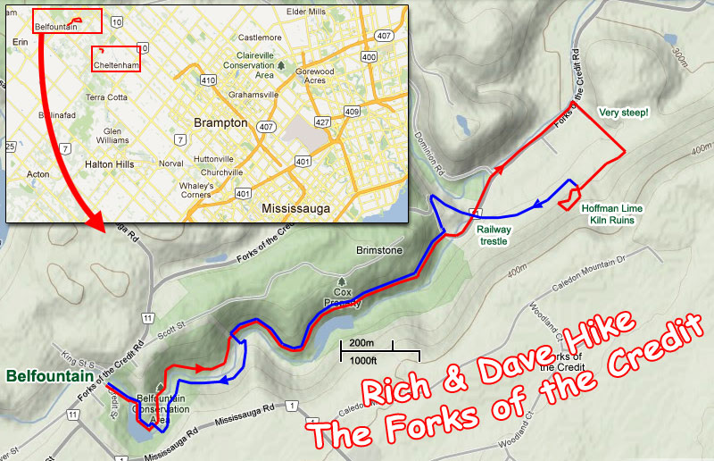 Dave & Rich Hike the Forks of the Credit
